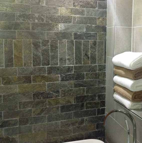 Deoli Green Brick Natural Stone Tiles 75x250mm