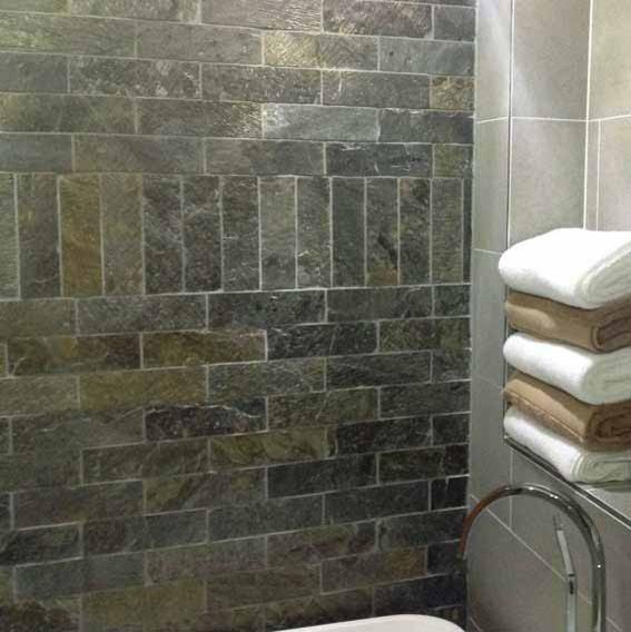 Deoli Green Brick Natural Stone Tiles