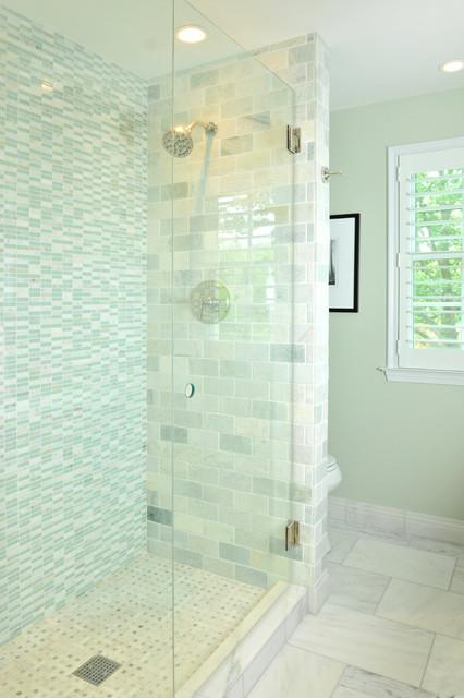 Des Moines IA Guest Bathroom Remodel Eclectic Eclectic