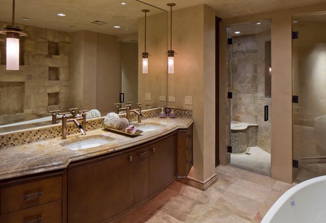 Desert mountain scottsdale az transitional bathroom for Bath remodel scottsdale