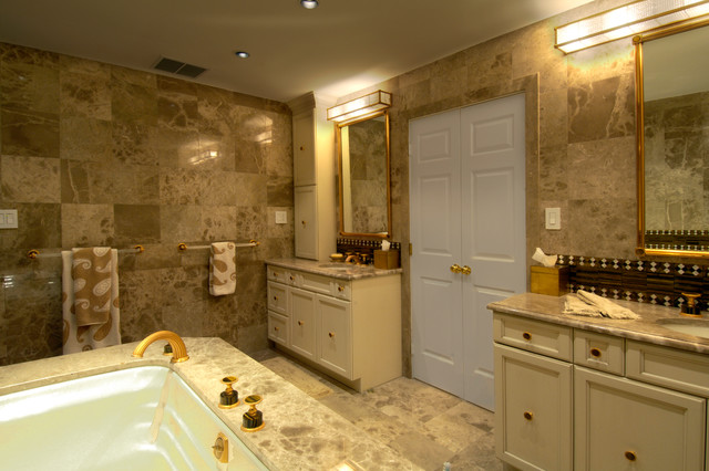 Design Build Whole House Renovation in Bethesda, MD traditional-bathroom