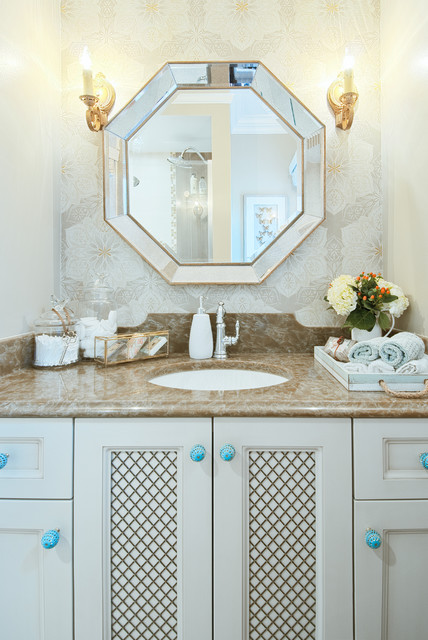 DESIGN BY INSPIRATION - Traditional - Bathroom - toronto - by 3sixty Space Planning + Design Inc.