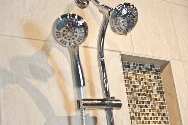 Design for Life Bathroom for Trade Show transitional-bathroom