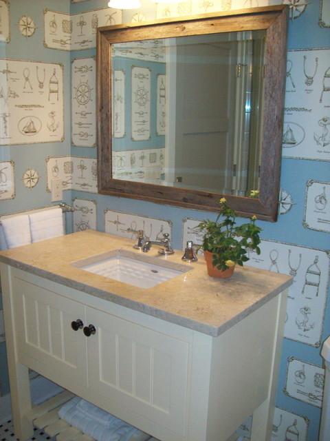 Design Home Lake Michigan Beach Style Bathroom Grand Rapids By Julie Holmes Design
