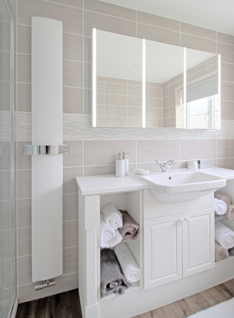 Designer Bathroom Installed In Colchester Essex Transitional Bathroom Essex By Kent Blaxill