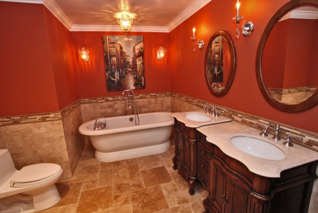 Designer bathrooms traditional-bathroom