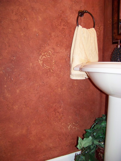 Designer Faux Finishes traditional-bathroom