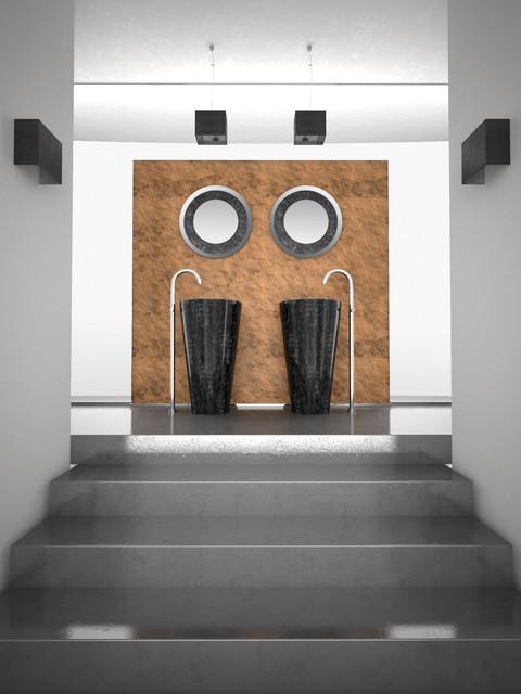 Designer Free Standing Bathroom Sinks - Modern - Bathroom - other ...