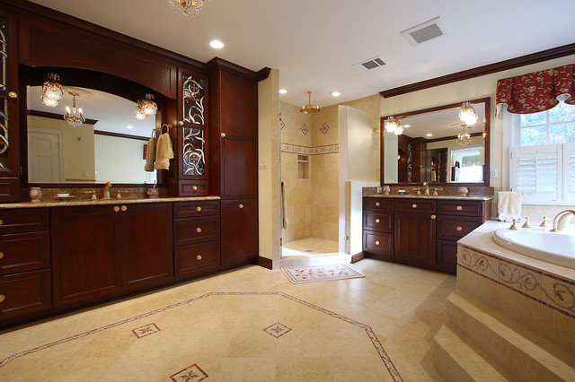 Designer Master Bath Remodel traditional-bathroom