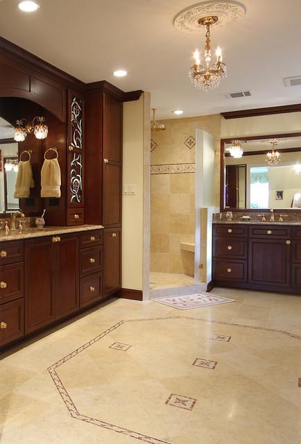 Designer Master Bath Remodel traditional-bathroom