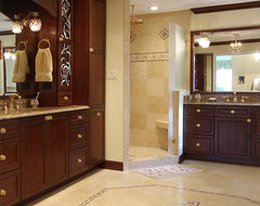 Designer Master Bath Remodel traditional bathroom