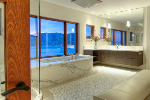 Designer Showcase Belvedere Contemporary Bathroom