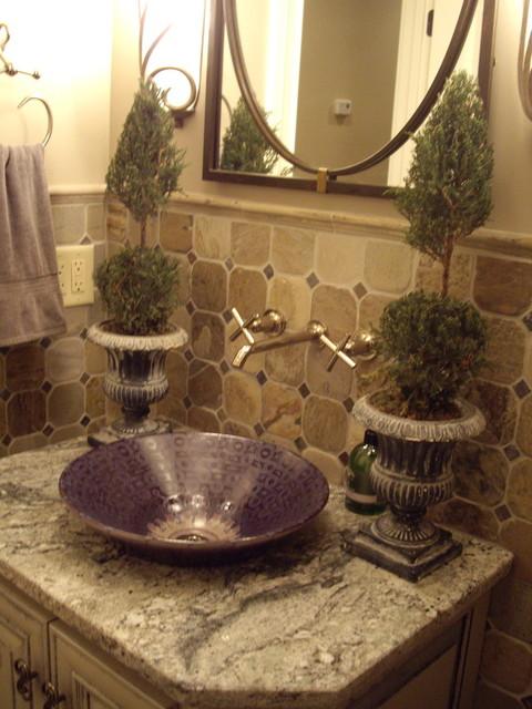 Designs by Gollum traditional-bathroom