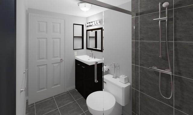 Designs contemporary-bathroom