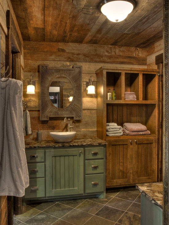 Rustic Bathroom Design Ideas, Pictures, Remodel & Decor