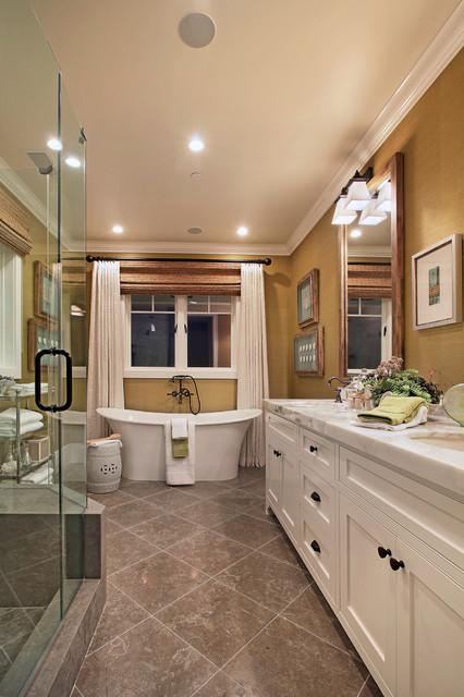 Diamond Avenue Traditional Bathroom Orange County By Brandon Architects Inc