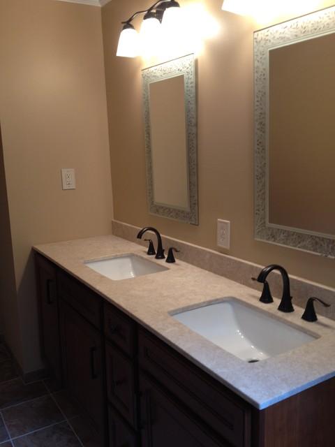 Diamond Cabinetry, Main bath, Smith, Willow Grove - Traditional - Bathroom - philadelphia - by ...