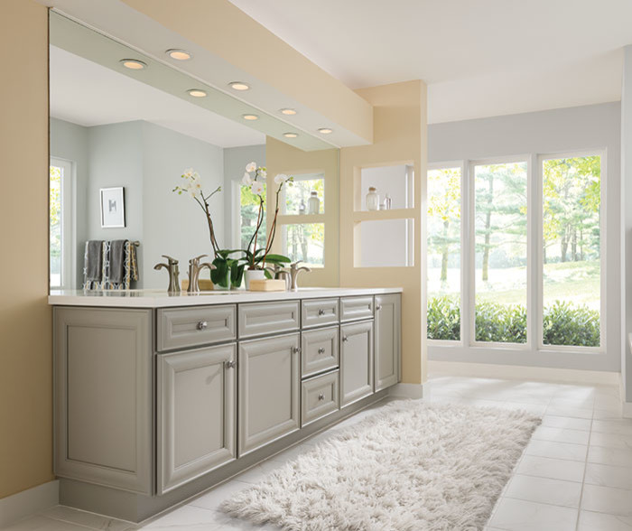 Inspiration for a timeless master bathroom remodel in Other