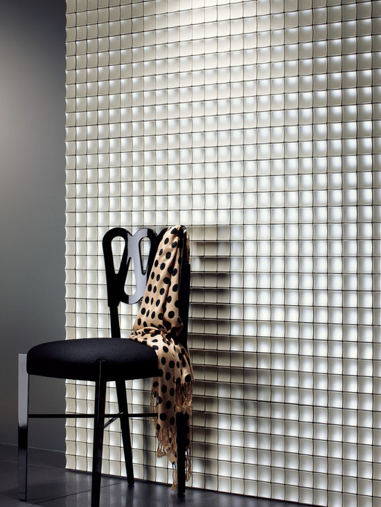 dimensional wall mosaics - 2x2 dimensional wall mosaics, suitable for interior installations and available in other colors.