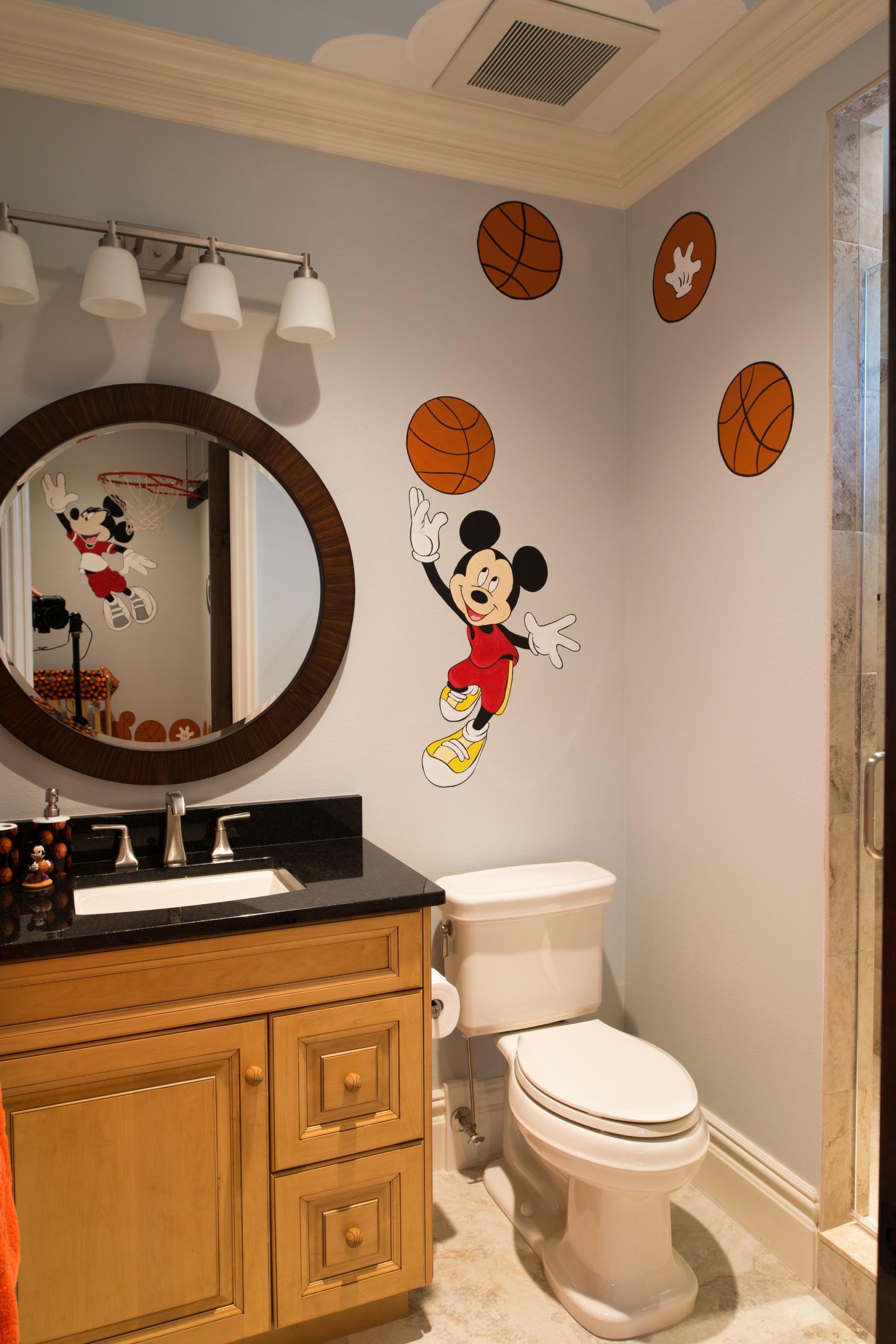 Mickey Mouse Bathroom Ideas Photos Houzz