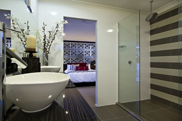 Display For Sunstate Homes Contemporary Bathroom