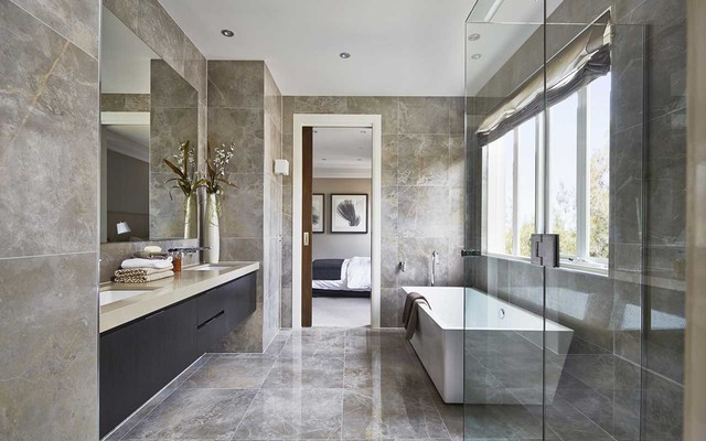 Display Home Bordeaux 56 Traditional Bathroom Melbourne By Metricon