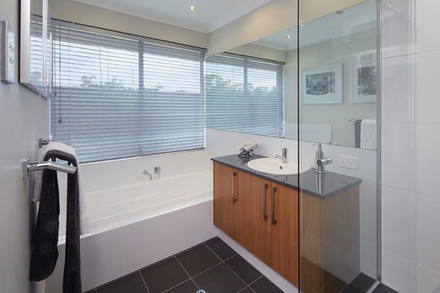 Display home the allure contemporary bathroom perth for Bath remodel ventura