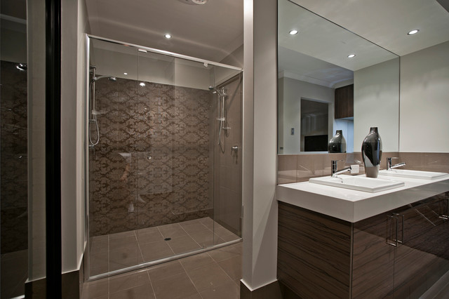 Display home the providence contemporary bathroom for Bath remodel ventura