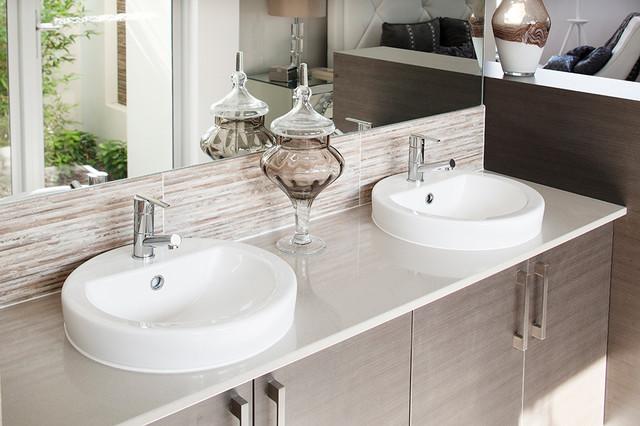 Display home the temptation contemporary bathroom for Bath remodel ventura