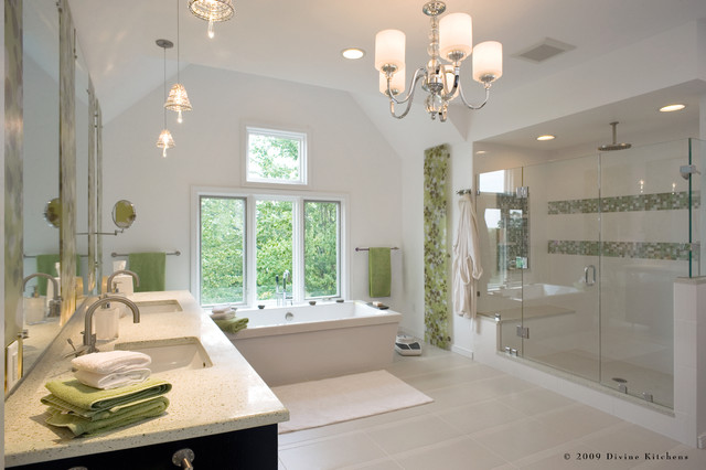 Divine Kitchens LLC contemporary bathroom