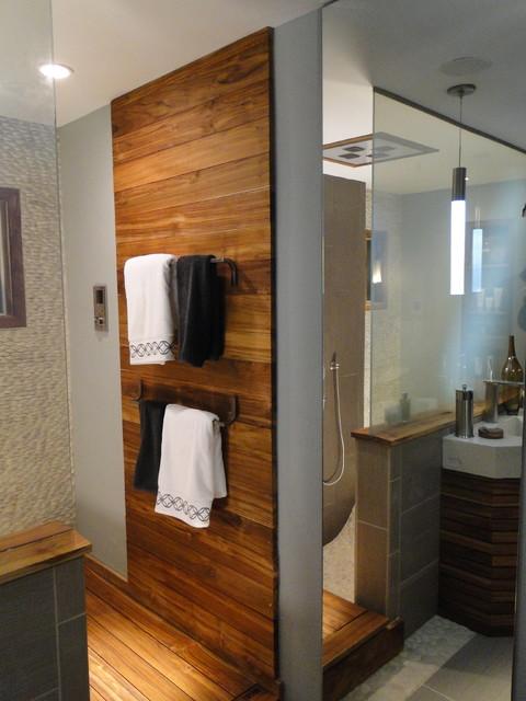 Diy network bath crashers contemporary bathroom for Diy network bathroom ideas