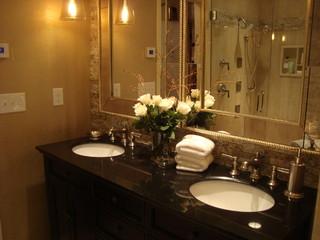 diy Network/HGTV Bath Crashers - Contemporary - Bathroom - other metro - by StoneTek