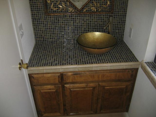 Doberenz Powder Bath eclectic-bathroom