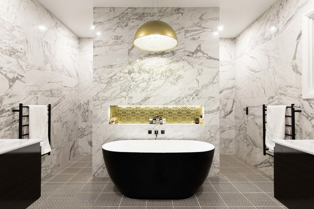 Peachy 10 Top Bathroom Trends For 2018 Houzz Download Free Architecture Designs Scobabritishbridgeorg