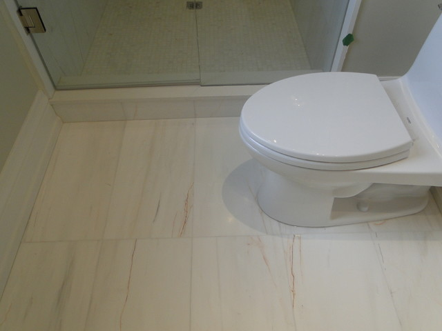 Dolomite Classico Polished Marble Residential Bathroom