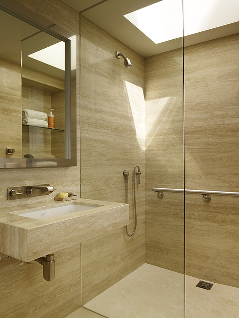 Dolores Heights, San Francisco modern-bathroom