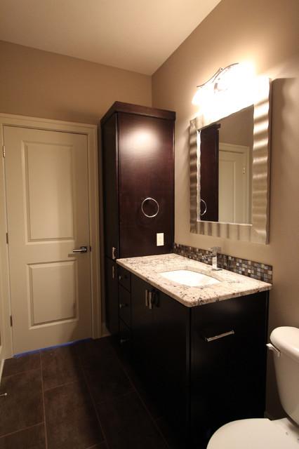 Dominica Transitional Bathroom Omaha By Sierra