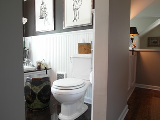 Donna DuFresne Design eclectic bathroom