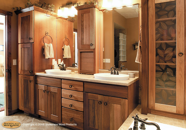 Amber  Traditional  Bathroom  other metro  by Showplace Kitchens