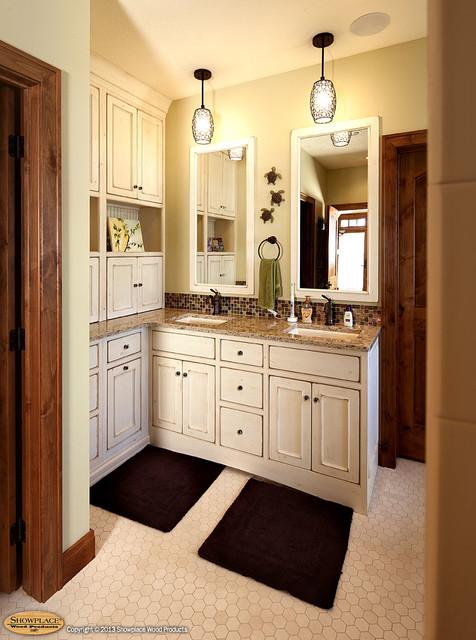 Door Style Savannah Inset Species Paint Grade Finish Vintage Traditional Bathroom