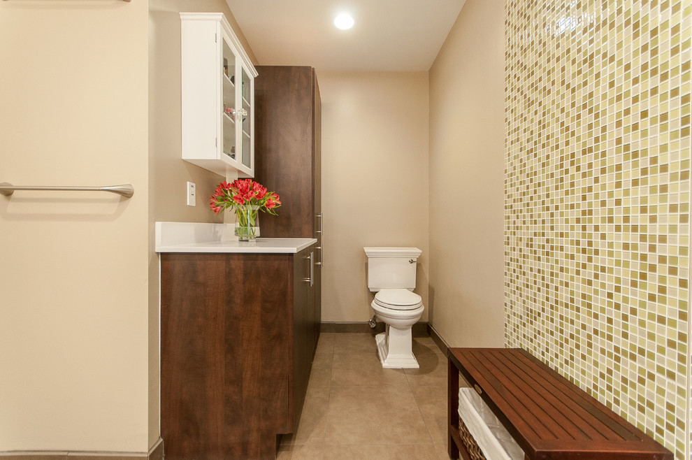 Doral Master Bathroom Remodel - Transitional - Bathroom ...