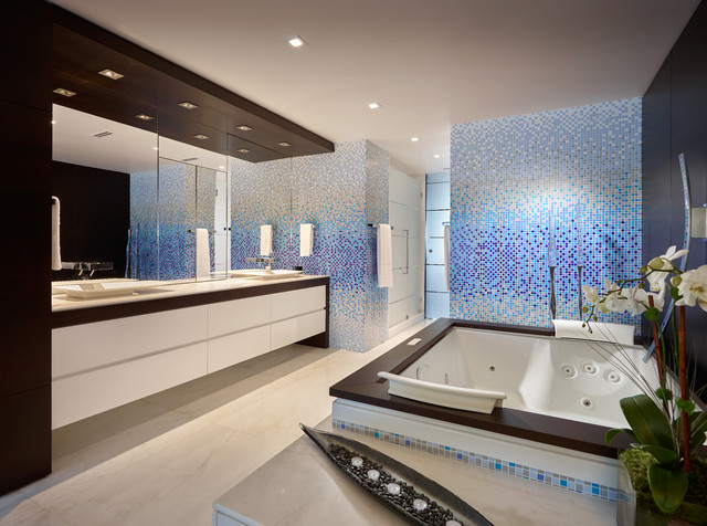 Doral Residence Miami Florida Contemporary Bathroom Miami By Pepe Calderin Design