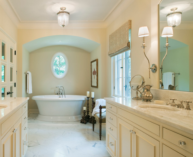 Dordogne French Chateau - Traditional - Bathroom - DC Metro - by ...