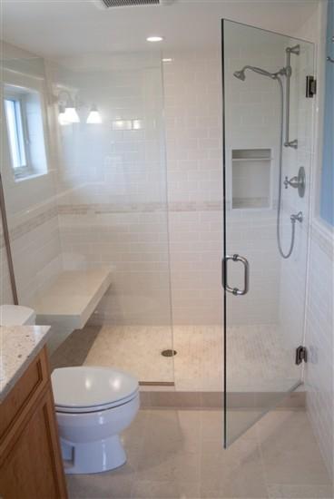 Dormer bathroom contemporary bathroom seattle by for Bathroom dormer design