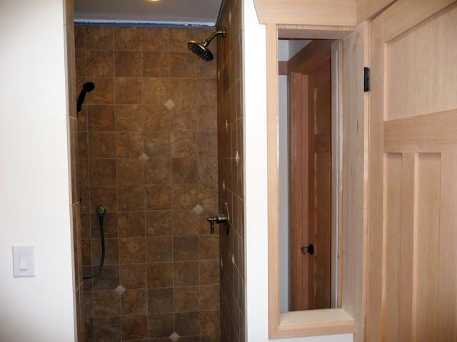 Dormer master suite addition ten directions design for Bathroom dormer design