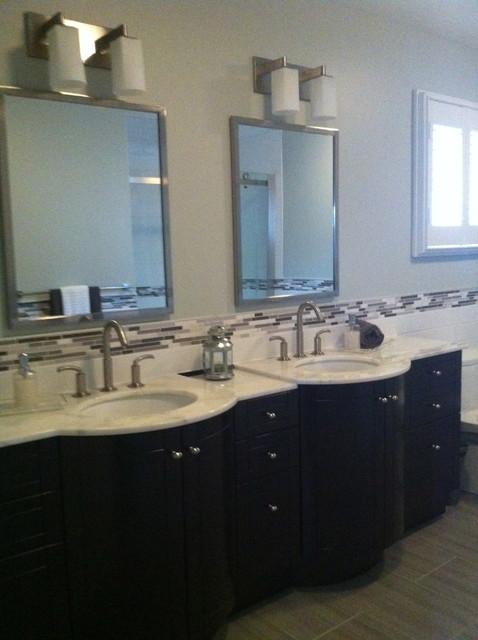 Double Vanity contemporary-bathroom