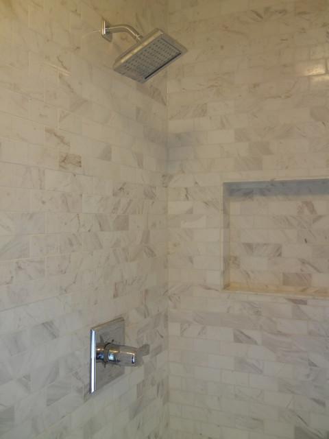 Douglasdale Master Bedroom Ensuite contemporary-bathroom
