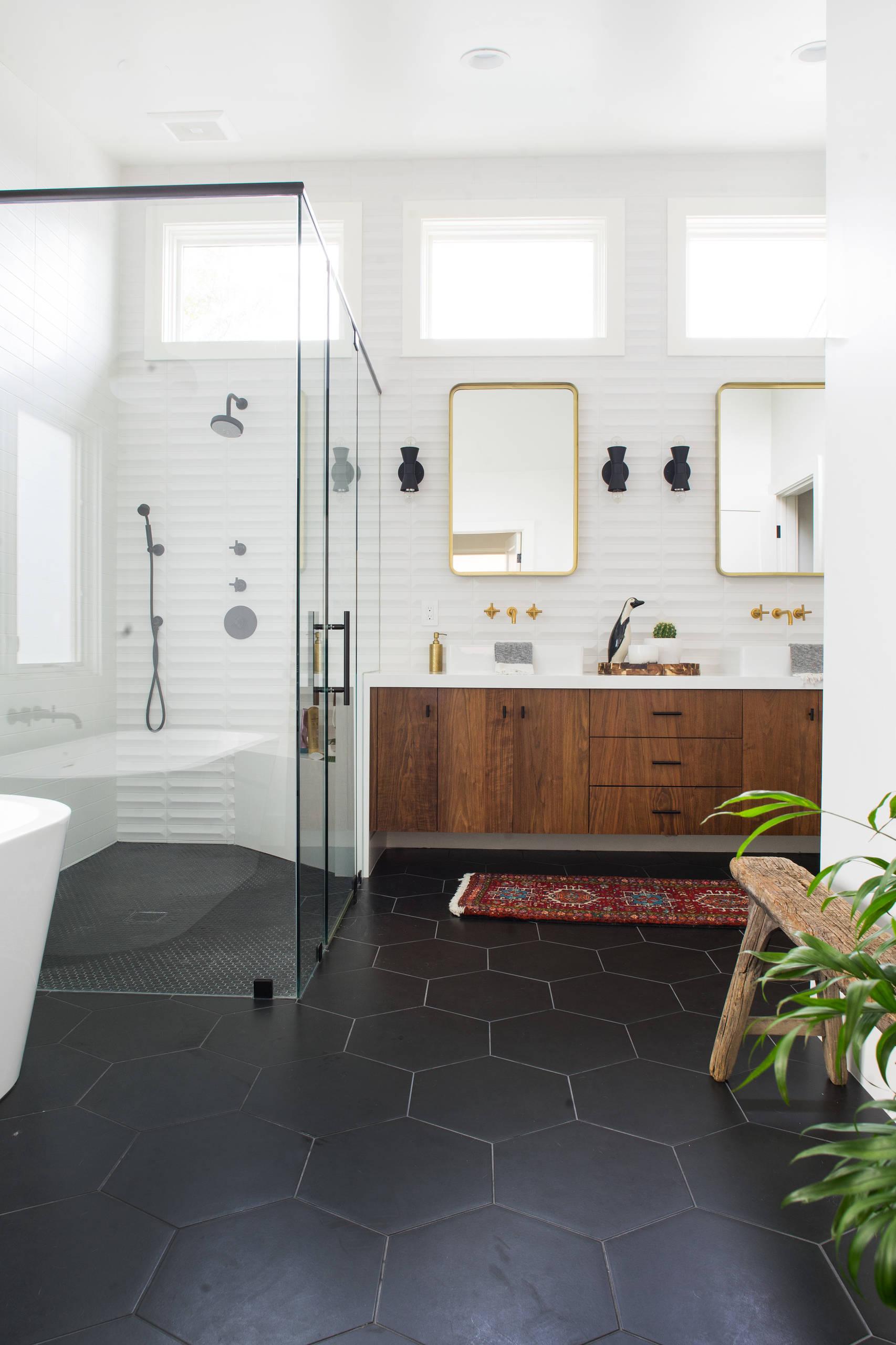 houzz modern bathrooms