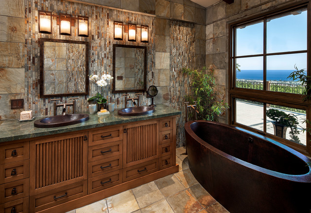 Elegant Dover Vista Asian Bathroom