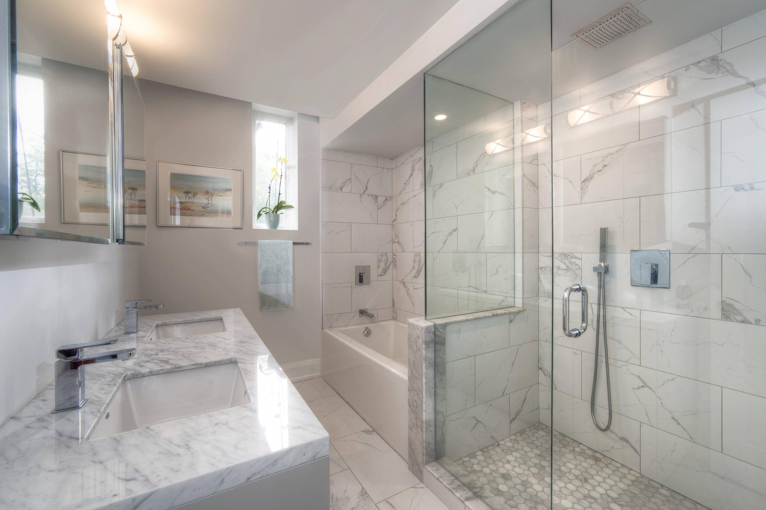 Downsizing to a loft - ensuite bath